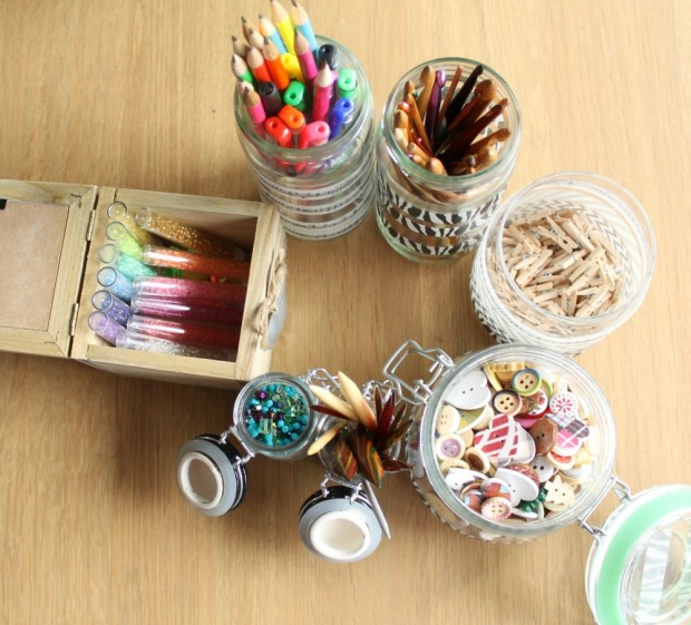Organize your craft stash