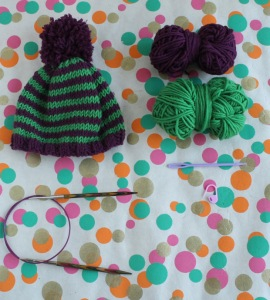 Free baby hat knitting pattern by GamerCrafting