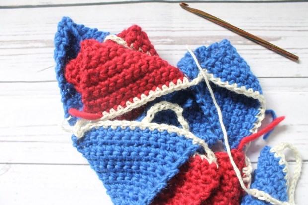 Last Minute 4th Of July Bunting Crochet Pattern For Procrastinators