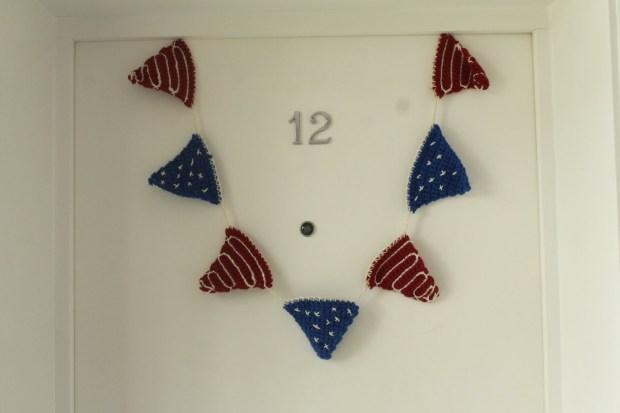 Free bunting crochet pattern