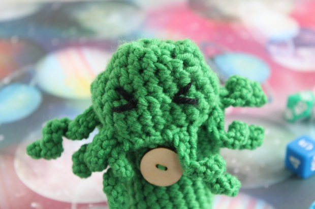 Free Cthulhu Dice Bag Crochet Pattern Gamercrafting Yarns