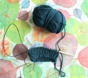Why I decided not to knit in 4-ply - read more at GamerCrafting