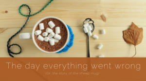 The day everything went wrong: the story of the sheep mug. Read more on GamerCrafting