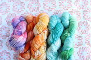 Custom dyed yarn from GamerCrafting