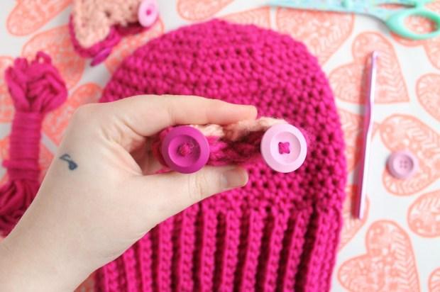 Free pussy hat crochet pattern